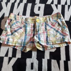 Arizona plaid shorts